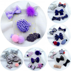 5 Pcs Children's Cute Hair Accessories Set