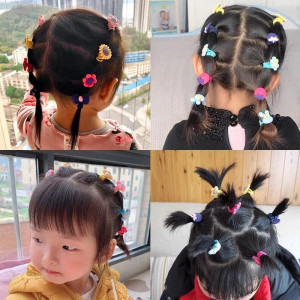 High Elasticity Children's Hair Band & Clip Set 40 pic