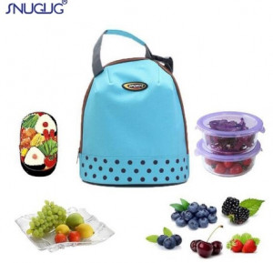 New Insulated Tote Waterproof Picnic Lunch Bag Box
