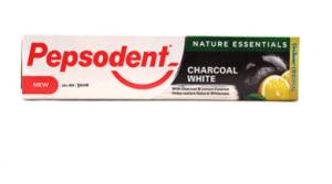 Original Pepsodent Charcoal White & Lemon Toothpaste 140 gm