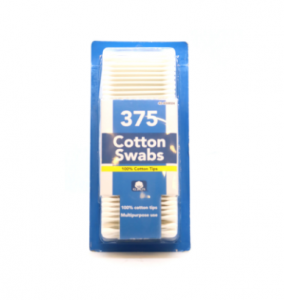 Cotton Cotton Swabs 375 pcs