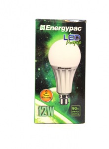 Original Energypac 12W Daylight (Pepole LED) Bulb Pin