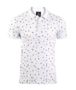 Oxygen-Mens Printed Polo Shirt.