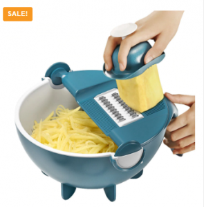 Multifunction Vegetable Cutter With Drain Basket