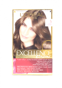 Original Loreal Excellence Creme 5 Chatain Clair Hair Color