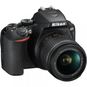 Nikon D3400 with afp 18-55mm Vr