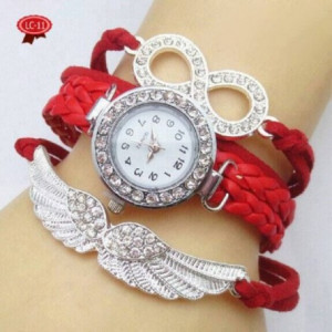 Multicolored Birds Wings Special Watch