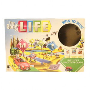 Original CC The Game Of Life Board Game 5221Y