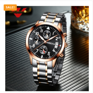 NIBOSI Luxury Mens Wristwatches Stainless Steel Sport Clock Male Watch 3192