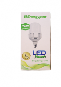 Original Energypac 24W Daylight (Power LED) Bulb Pin