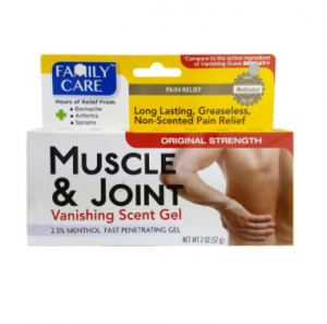Family Care Muscle & Joint Vanishing Scent Gel 57 g