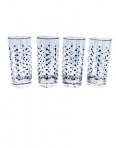 Original Pasabahce Tuxedo Cooler Glass Set 485 ml 4 pcs
