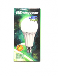 Original vEnergypac 15W Daylight (Pepole LED) Bulb Pin
