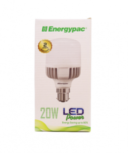 Original Energypac 20W Daylight (Power LED) Bulb Pin