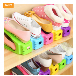 Double Layers Shoe Organizer Space Saving Shoes Rack