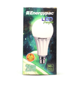 Original  Energypac 20W Daylight (Pepole LED) Bulb Pin