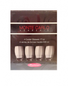 Original Monte Carlo Glassware 4 pcs Glasses