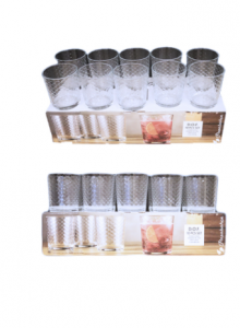 Original Pasabahce D.O.F Glass Set 10 pcs