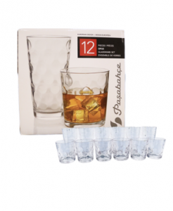 Original Pasabahce Opus Glassware Set 12 pcs