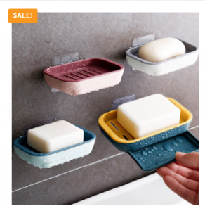 Three Layer Drain Soap Holder