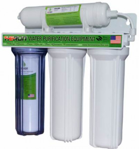 Heron Stage 4 Water Purifier - White