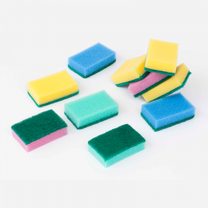 Colorful Sponge Scouring Pad