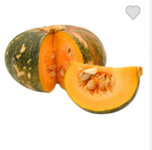 1 sweet pumpkin
