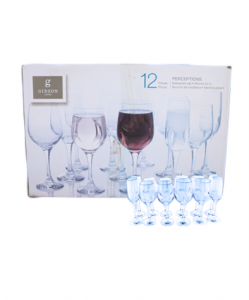 Original Gibson Home Drinking Glasses Set 12 pcs