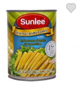 SUNLEE CANNED YOUNG বেবি কর্ণ 420GM THAILAND