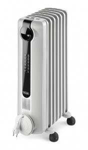 Oil Filled Radiator Room Heater - White