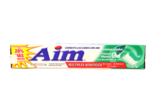 Aim Whitening Fresh Mint Toothpaste 156 gm