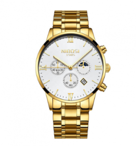 NIBOSI Fashion Men Watches Luxury Business Quartz Watch Men - 2325