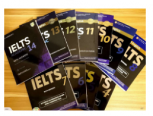 Cambridge IELTS With Answer 1-14 (Academic) With DVD