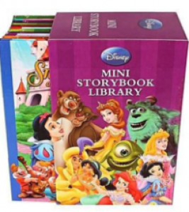 TOKENZ Mini Storybook Library A Special Disney Storybook Series Gift for kids Pack of 12. Story book 12pcs