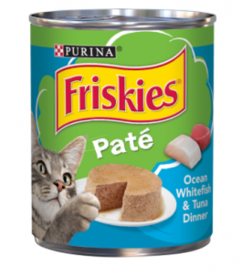 Original Purina Whtfish & Tuna Friskies Cat Food 368 gm