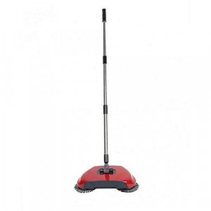 360 Rotation Hand Push Sweeper Spin Broom Household Floor Dust Cleaning Mop