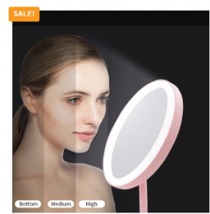 LED Mirror for Womens Makeup Back Lit Mirror