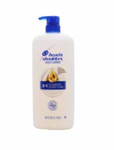 Head & Shoulders 2-in-1 Complete Scalp Care Shampoo+Conditioner Pump 1.18 Ltr