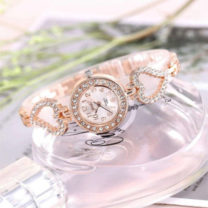 Luxury Fashion Watch For Women Rhinestone Ladies Watch