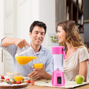 6 Blade USB Rechargeable Portable Mini Juicer