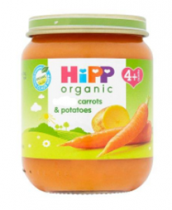 Hipp organic carots & potatoe From 4+ months - 125gm