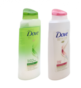Original Dove Radiant Shine Shampoo 603 ml