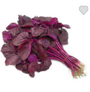 1 bunch of red spinach 200 gms