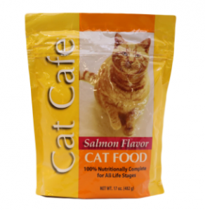 Original Cat Cafe Salmon Flavor Cat Food 482 gm