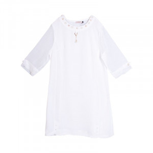 Muslin-Womens Semi Long Tops.