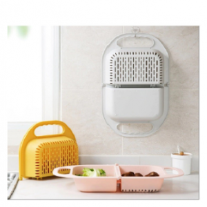 Foldable Fruit Vegtable Washing Basket Strainer