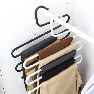 5 Layers S Shape MultiFunctional Clothes Hangers