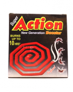 Original Super Action Booster Mosquito Coil 10 Pcs Pack