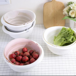 Multi Function Kitchen Colander STRAINER DRAIN BASIN BASKET