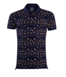 Oxygen Mens Printed Polo